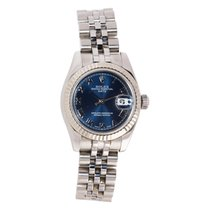 Rolex Lady-Datejust Gold/Steel 26mm Blue Roman numerals United States of America, Maryland, Rockville