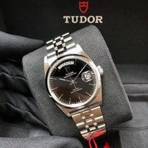Tudor Prince Date Steel 36mm Black