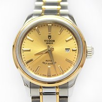 Tudor Style Gold/Steel 28mm Champagne