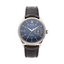Rolex Cellini Date White gold 39mm Blue No numerals United States of America, Pennsylvania, Bala Cynwyd
