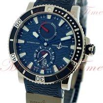 Ulysse Nardin Maxi Marine Diver, Blue Dial - Titanium/Steel on...