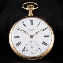 Ulysse Nardin Часы подержанные 1910 Жёлтое золото 49mm Римские Механические Часы с оригинальной коробкой