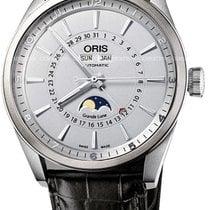 Oris Artix Complication Steel 46mm Silver United States of America, New York, Brooklyn