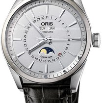 Oris Artix Complication Steel 46mm Silver