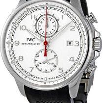 IWC Portuguese Yacht Club Chronograph nouveau Remontage automatique Chronographe Montre avec coffret d'origine et papiers d'origine IW390211