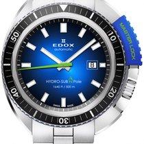 Edox Steel 46mm Automatic 80301-3NBU-NBU new