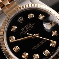 Rolex Datejust 36mm Black Diamond Dial 16013