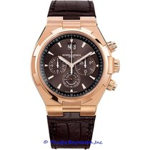 Vacheron Constantin Rose gold Automatic Brown 43mm new Overseas Chronograph