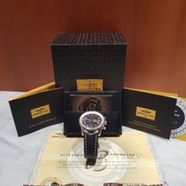 Breitling Navitimer World A2432212/B726  Steel + Leather band