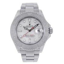 Rolex YACHT-MASTER 40mm Steel & Platinum Dial