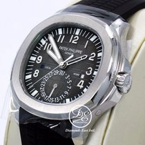 Patek Philippe Aquanaut Dual Time 5164a Steel Black Dial Auto...