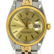 Rolex Oyster Perpetual Date Two Tone