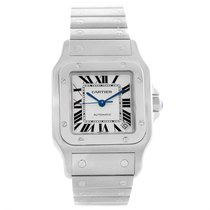 Cartier Santos Galbee Xl Steel Mens Watch W20098d6 Box Papers