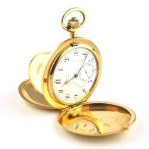 IWC Rare 14k/585 Gold 58mm Casing Hunter's Pocket Watch