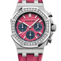 Audemars Piguet Royal Oak Offshore Lady Steel 37mm Pink United States of America, New York, NEW YORK