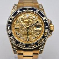 Rolex GMT-Master II Diamond After Setting