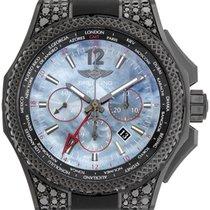 Breitling Bentley GMT light body B04 black diamonds