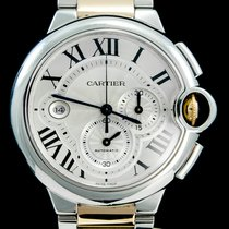 Cartier Or/Acier 44mm Remontage automatique W6920075 occasion Belgique, Brussel