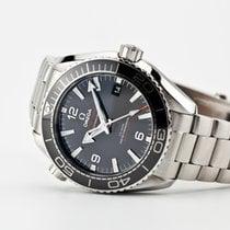 Omega Seamaster Planet Ocean Steel 43.5mm Black Arabic numerals