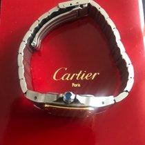 Cartier Santos Galbée usados 2.4mm Acero y oro