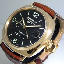 Panerai Rose gold Automatic Black Arabic numerals 45mm pre-owned Special Editions