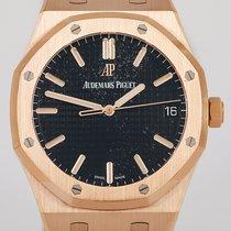 Audemars Piguet Royal Oak neu 2019 Automatik Uhr mit Original-Box und Original-Papieren 15500OR