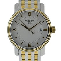 Tissot Bridgeport Acero 40mm Plata