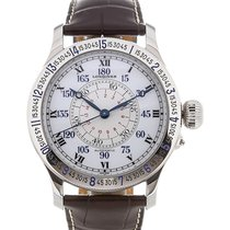 Longines Lindbergh Hour Angle Steel 47.5mm White