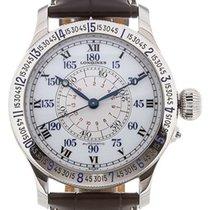 Longines Lindbergh Hour Angle Acero 48mm