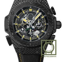 Hublot King Power Carbono 48mm Transparente