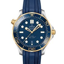 Omega Seamaster Diver 300 M 210.22.42.20.03.001 new