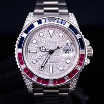 Rolex 116759SARU White gold GMT-Master II 40mm pre-owned