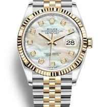 Rolex Datejust Gold/Steel 36mm Mother of pearl UAE, Dubai