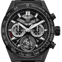 TAG Heuer Carrera Heuer-02T CAR5A90.BH0742 New Ceramic 45mm Automatic