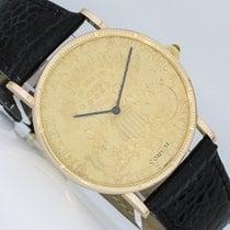 Corum Roségold 35mm Handaufzug Coin Watch gebraucht Deutschland, Dresden
