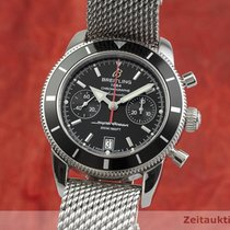 Breitling A23370 Steel 2014 Superocean Héritage Chronograph 43.5mm pre-owned