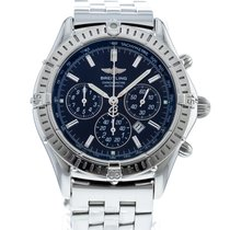 Breitling Shadow Flyback Сталь 38mm Чёрный