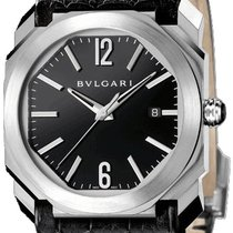 Bulgari Octo Steel 41mm Black United States of America, New York, Brooklyn