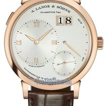 A. Lange & Söhne Grand Lange 1 Rose gold 40.9mm Silver United States of America, New York, Airmont