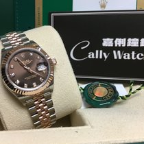 Rolex Cally - New 2017 28mm Datejust 279171G  Chocolate 啡鑽石