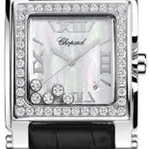 Chopard Happy Sport II - Square XL 18kt Weissgold