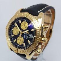 Breitling Chronomat Evolution Mens 44mm 18K Gold Watch
