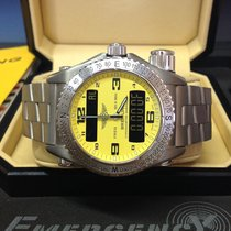 Breitling Emergency Yellow Dial - Box & Papers 2008