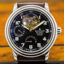 Blancpain 2125-1130 Tourbillon Automatic Black Military Dial...