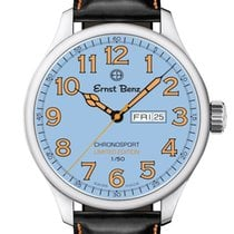 Ernst Benz Steel 44mm Automatic GC40200/CR2 new