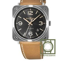 Bell & Ross BR S BRS92-G-HE-ST New Steel 39mm Automatic