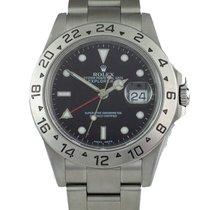 Rolex Explorer II pre-owned 40mm Date GMT Steel