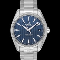 Omega Seamaster Aqua Terra Steel 41.5mm Blue United States of America, California, San Mateo