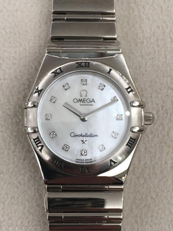 Omega Costellation My Choice White Gold za 4 41e5de2e59a