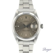 Rolex Oyster Perpetual Date Stal 34mm Szary